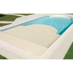 Volets roulants bleu piscine vente et pose de piscines for Comparatif piscine coque ou beton